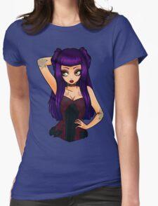 Dark Cherry Womens Fitted T-Shirt