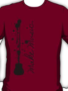 Make Music (Acoustic Guitar) T-Shirt
