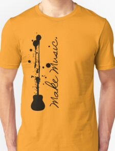 Make Music (Acoustic Guitar) T-Shirt