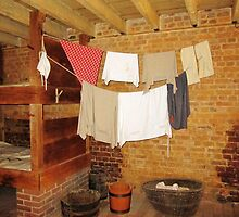Slave Quarters, Mount Vernon, VA by Bine