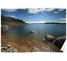 Lake Eucumbene by Day Poster