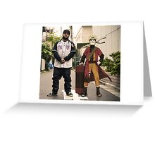 Yams x Naruto Greeting Card