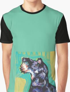 Dachshund Dog Bright colorful pop dog art Graphic T-Shirt