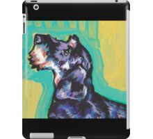 Dachshund Dog Bright colorful pop dog art iPad Case/Skin
