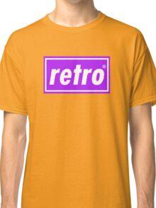 Retro - Purple Classic T-Shirt