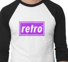 Retro - Purple Men's Baseball ¾ T-Shirt