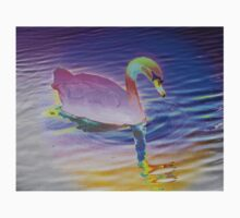 Swan mirror in pastels Kids Clothes