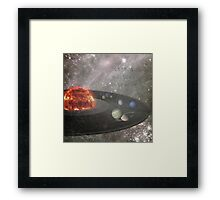 It's a Musical Universe Framed Print