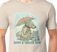 Adopt a Shelter Dog Unisex T-Shirt