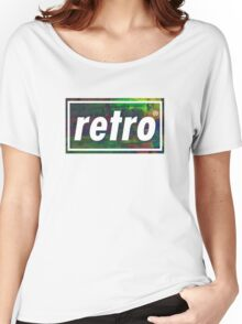 Retro - Multicoloured Women's Relaxed Fit T-Shirt