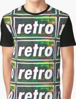 Retro - Multicoloured Graphic T-Shirt