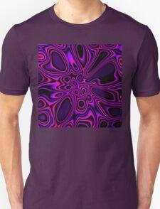 Purple Pink Fractal 1 T-Shirt