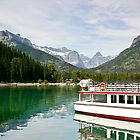 Waterton Lakes Boat Tour by Teresa Zieba