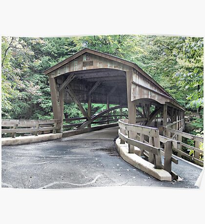 Mill Creek Covered Bridge Poster