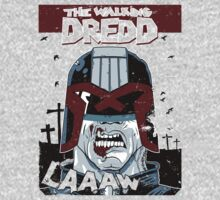 The walking dredd - original by chrisgchadwick