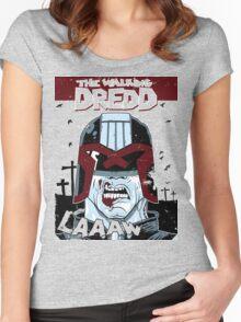 The walking dredd - original Women's Fitted Scoop T-Shirt