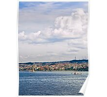 A View From Topkapi Palace Towards The Maiden Tower Poster