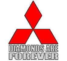 Diamonds are Forever2 Photographic Print