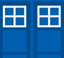 The Iconic TARDIS  Sticker