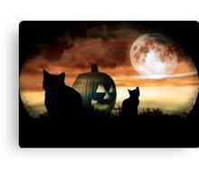 Black Magic Moon Canvas Print