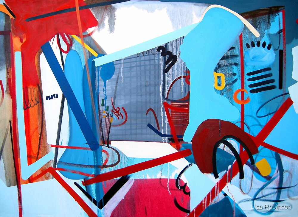 Abstract Interior #5 by Lisa V Robinson