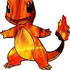 Fire-y charmander  by Morware