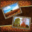 Autumn Collage by Linda Miller Gesualdo