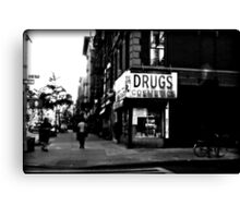 Drugs & Cosmetics. Canvas Print