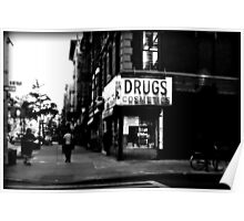 Drugs & Cosmetics. Poster