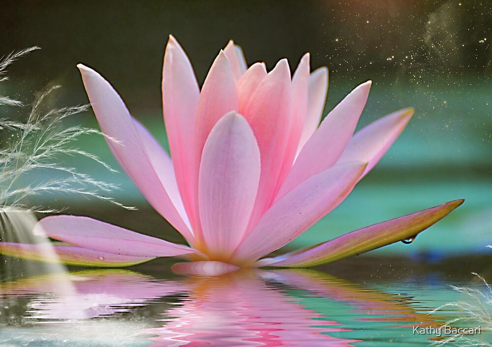 Fantasy Lotus by Kathy Baccari