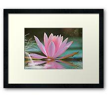 Fantasy Lotus Framed Print
