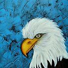 Sacred Bald Eagle by ClaudiaTuli