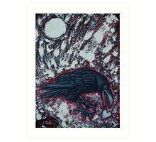 When The Raven Returned The Light Art Print