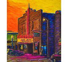 Teton Theater - Jackson, Wyoming by circleMstudios