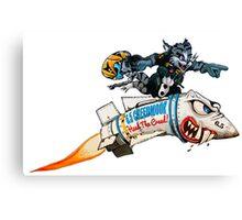 6.5 Creedmoor | Missile Rider Canvas Print