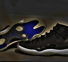 Nike Air Jordan XI Retro Space Jam  by Ben Mattner