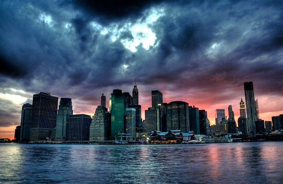 New York Skyline by luciaferrer