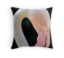 Greater Flamingo Throw Pillow