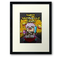 Super Spellbound Caves - Enchanting Poster Framed Print