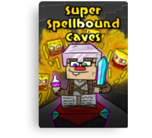 Super Spellbound Caves - Enchanting Poster Canvas Print
