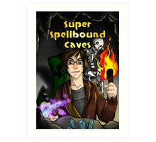 Super Spellbound Caves - Discovery Poster Art Print