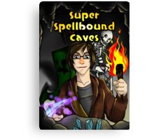 Super Spellbound Caves - Discovery Poster Canvas Print
