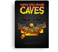Super Spellbound Caves - Blaze Poster Canvas Print
