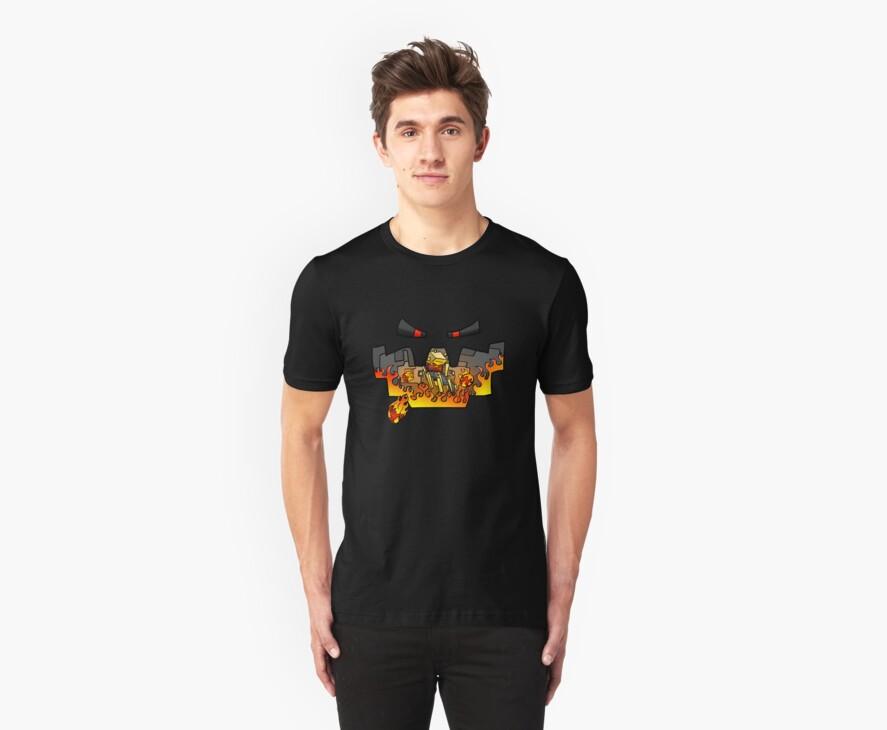 Super Spellbound Caves - Blaze T-Shirt by ChimneySwift11