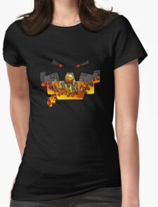 Super Spellbound Caves - Blaze T-Shirt Womens Fitted T-Shirt