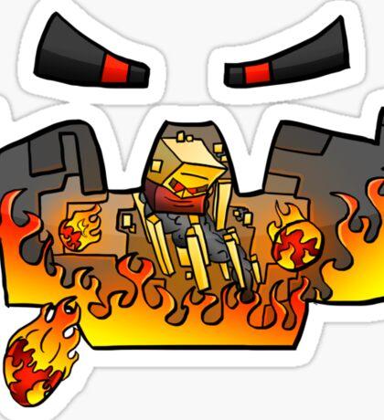 Super Spellbound Caves - Blaze T-Shirt Sticker