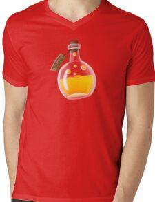 Super Spellbound Caves - Fire Resistance Potion T-Shirt Mens V-Neck T-Shirt