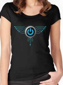 POWER to FLY Women's Fitted Scoop T-Shirt