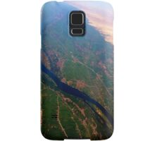 Egypt From Above - The Nile In Bright Color Samsung Galaxy Case/Skin
