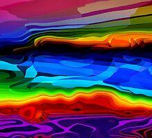 Bermuda Coastline - Digital Variation I by circleMstudios